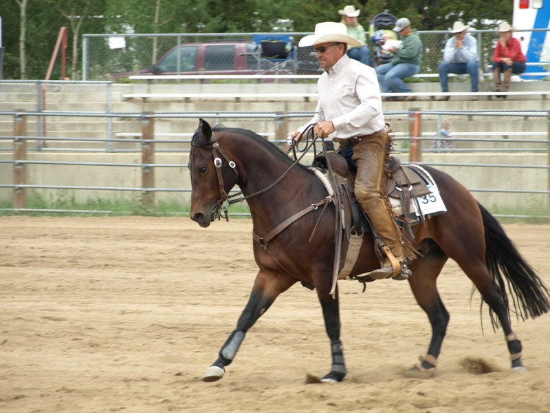 Reining small slow